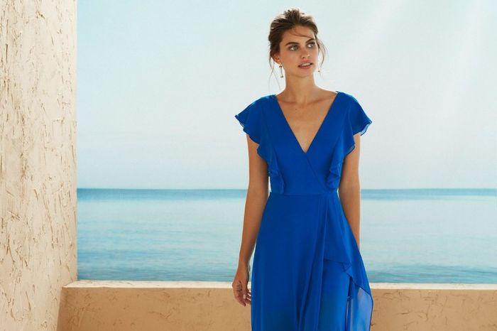 Elige tu vestido para el matri civil: AZUL 2