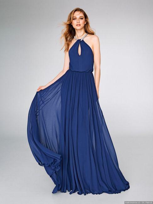 Elige tu vestido para el matri civil: AZUL 3