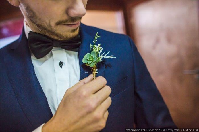 ¡Elige un botonier para el novio!💐 1