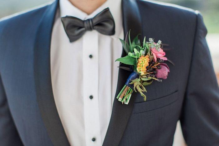 ¡Elige un botonier para el novio!💐 3