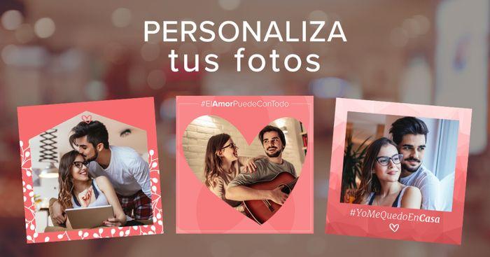 ¡Personaliza tu foto de perfil con nuestros marcos #QuédateEnCasa! ❤ 1