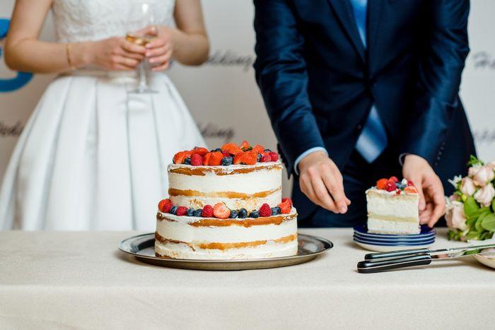 ¿De qué sabor te gustaría que fuera la torta nupcial? 1