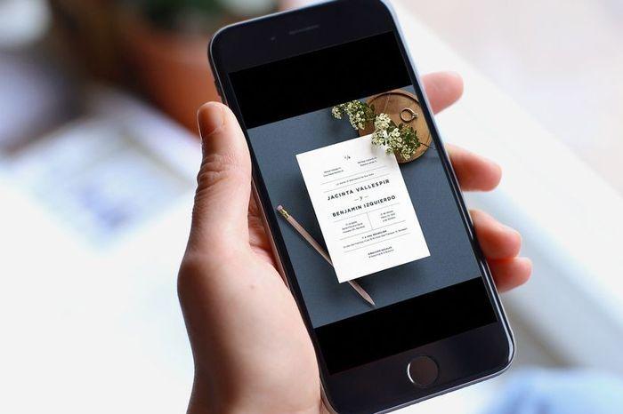 ¡3 ideas para ahorrar en las tarjetas de invitación! 1