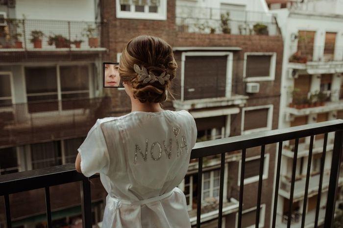 ¿Vas a usar bata de novia? 1
