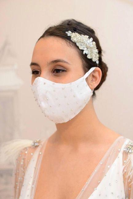 ¿Te casarías con mascarilla? ¿Sí o no? 1