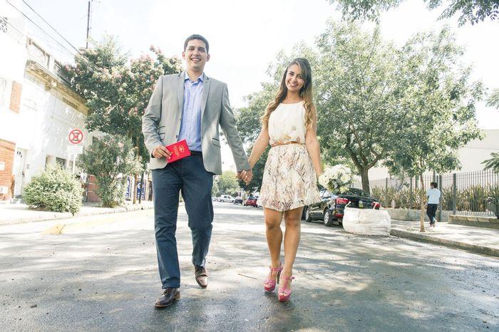 5 Looks en pareja para el CIVIL: Vota tu favorita❤️💍 1