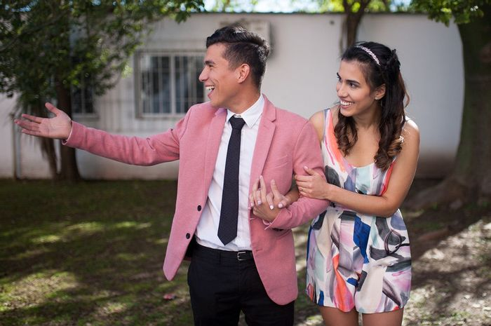 5 Looks en pareja para el CIVIL: Vota tu favorita❤️💍 2