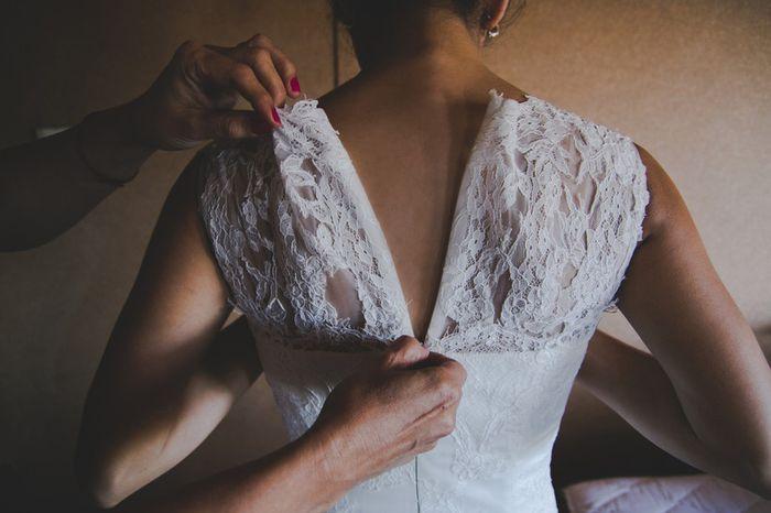 ¿Te casarías con el vestido de novia de tu mamá? 1