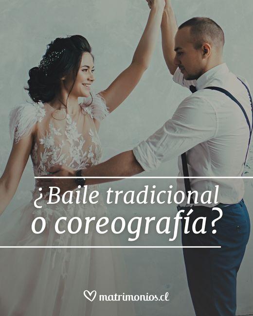 ¿Baile tradicional o coreografía? 2