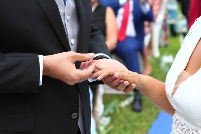 ¿En qué mano se pone el anillo de casad@? 1