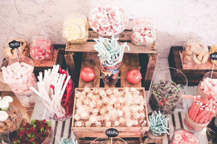 Le pongo un ❤️ a este Candy bar! 3
