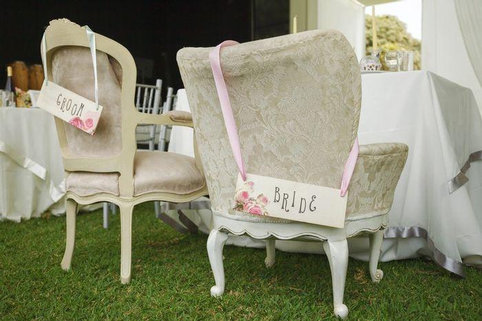 ✖️4to MATCH: ¡Las sillas de los novios!💚 2