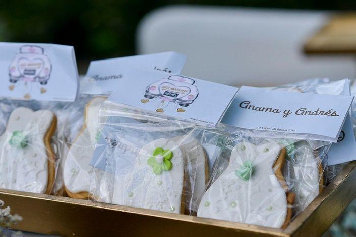 6 galletitas personalizadas... ¿Encargarías unas? 🍪 2