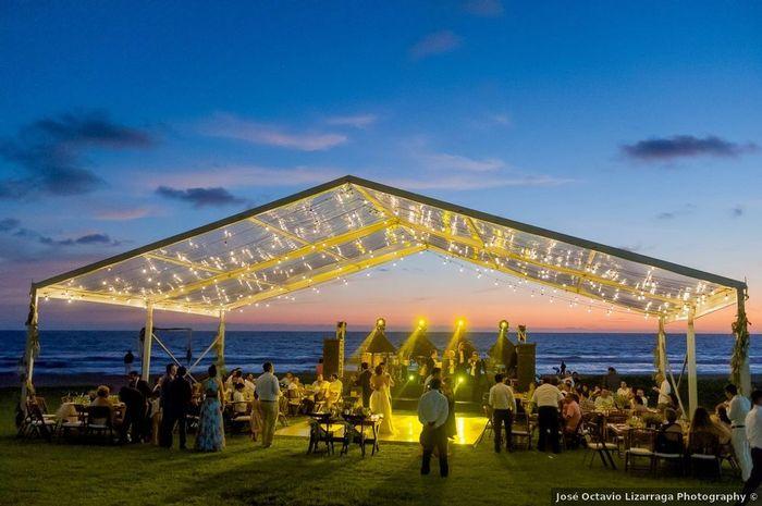 ¿Harías la ceremonia y la fiesta en la misma playa? 2