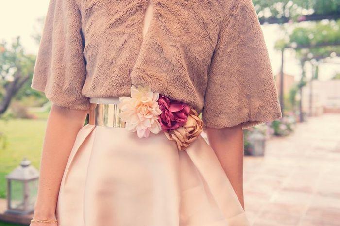 Bolero de piel para novias de Invierno: ¿Lo usarías? 1