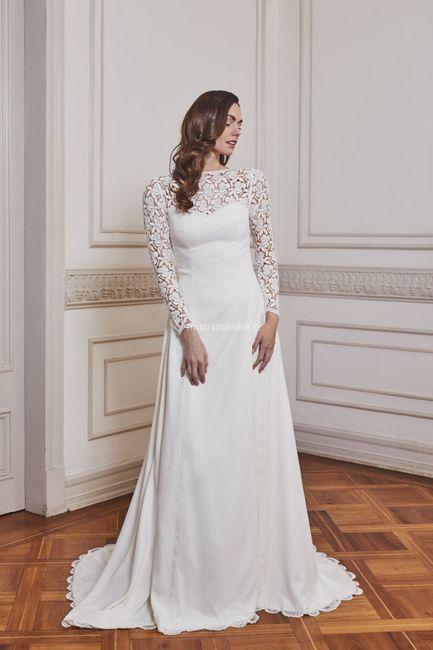 3 vestidos de novia de Paula Díaz: ¿Cuál te enamora?❤️😍 1