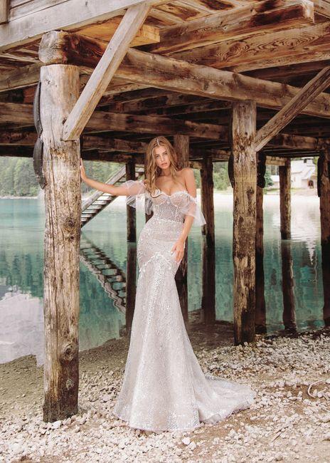 3 vestidos de novia de Macarena Palma: ¿Cuál te enamora?❤️😍 1