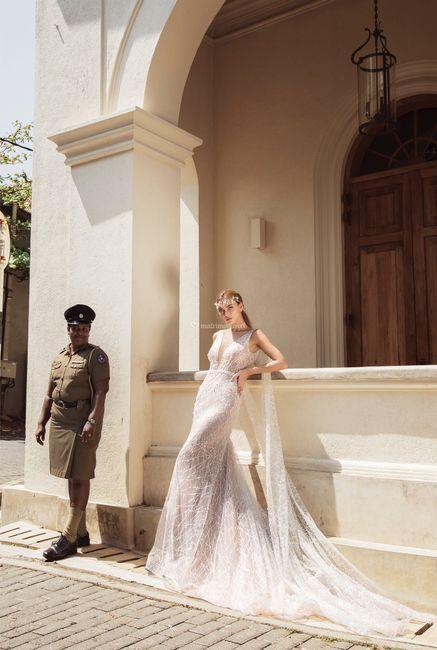 3 vestidos de novia de Macarena Palma: ¿Cuál te enamora?❤️😍 3