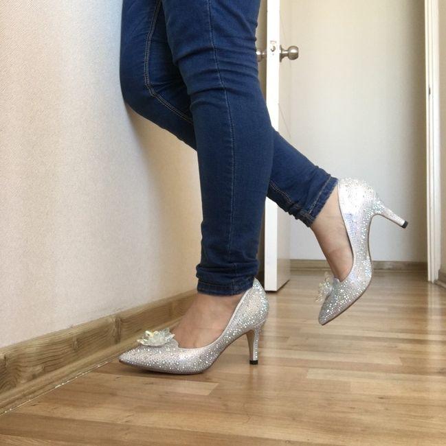 ¡Llegaron mis zapatos! 💙 2