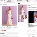 Ahorren en su vestido de novia