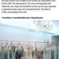Dato liquidación vestidos de novia - 1