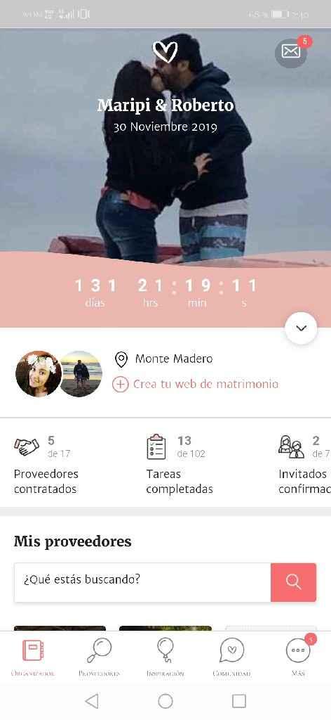 María José y Roberto, hoy nos quedan 131 dias. - 1
