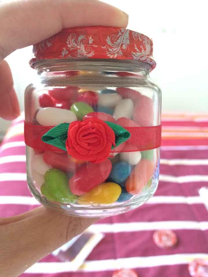 Frascos para candy bar! - 1