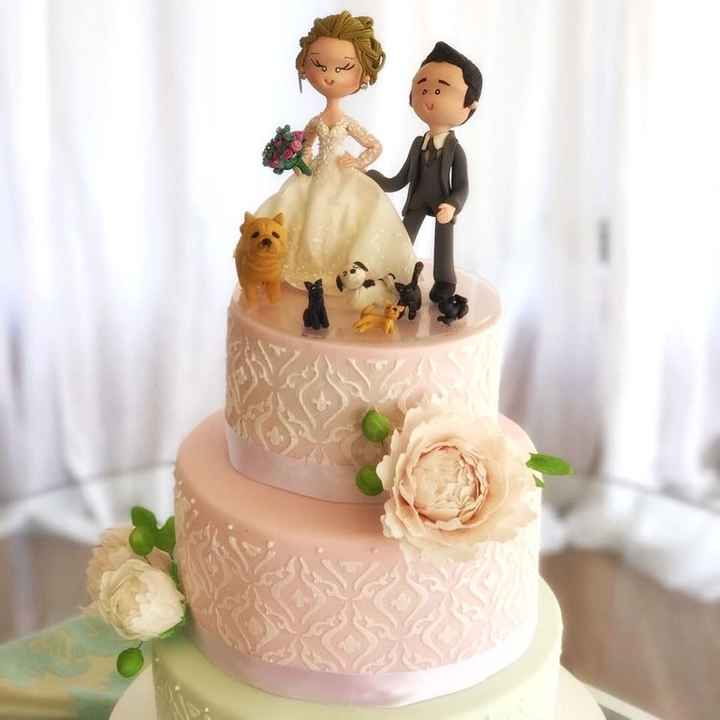¿Ya eligieron el diseño para el pastel de los novios? - 2