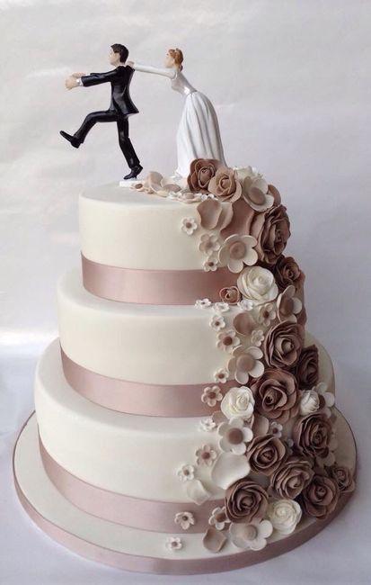 ¿Ya eligieron el diseño para el pastel de los novios? 6