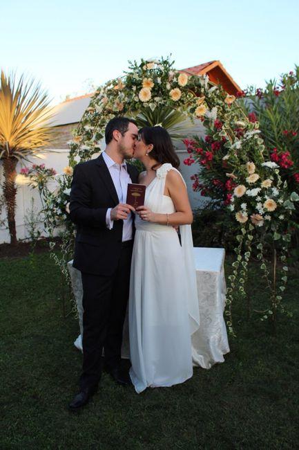 Nuestro matrimonio civil 😍💐 - 1