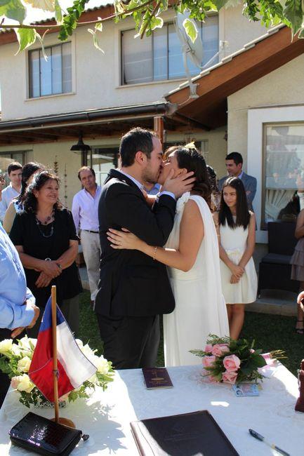 Nuestro matrimonio civil 😍💐 - 2