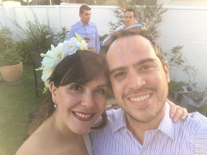 Nuestro matrimonio civil 😍💐 - 5