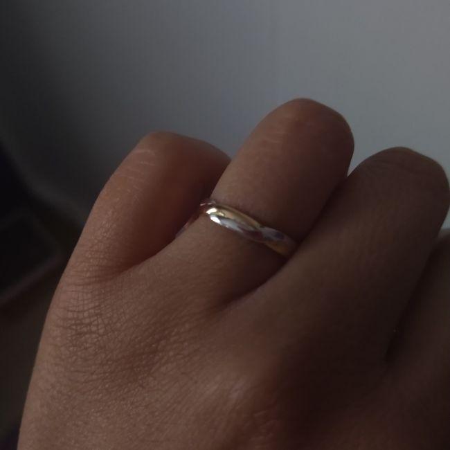Anillos de matrimonio entregados! 2