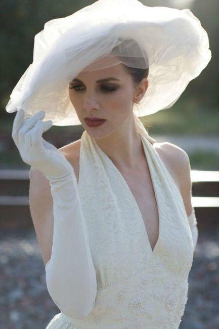 Sombrero para la novia  ¿sí o no  f00718620c2