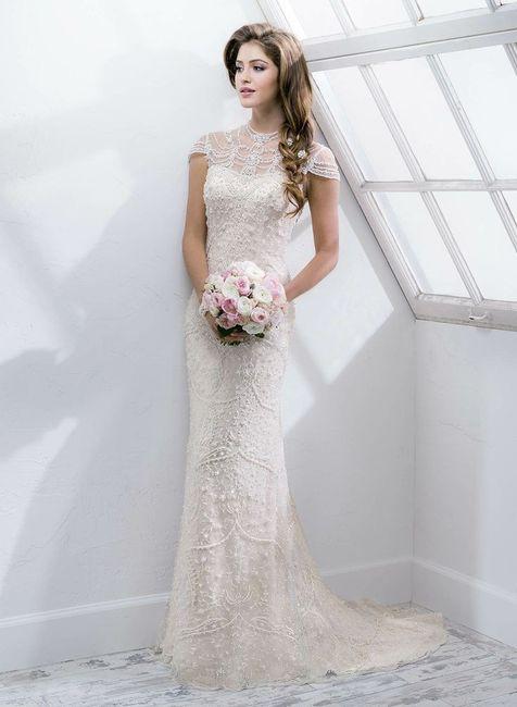 Vestidos de novia retro 2019