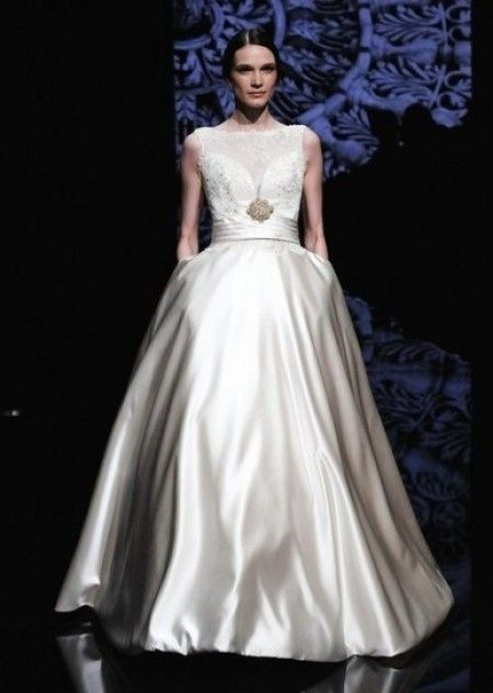 Vestidos de novia con bolsillos 2015