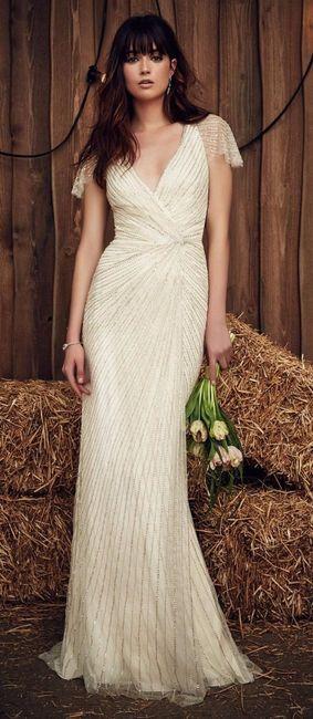 Vestido de novia civil campestre