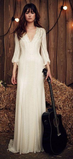 8 vestidos de novia estilo campestre