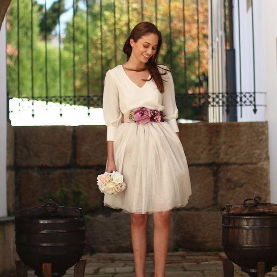 Vestidos de novia para matrimonio civil bogota