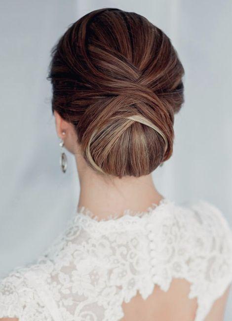 Peinado de novia civil