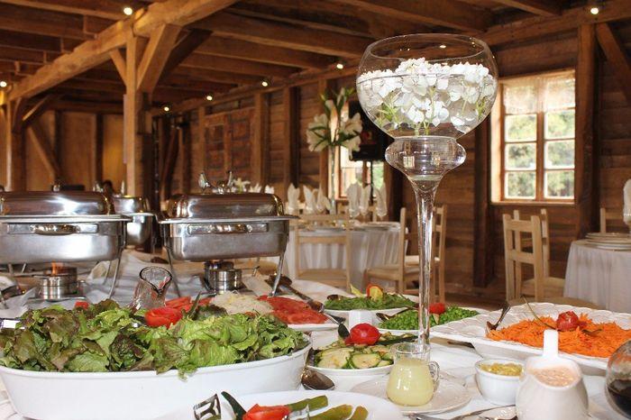¿Qué comida servirás en tu matrimonio? 1