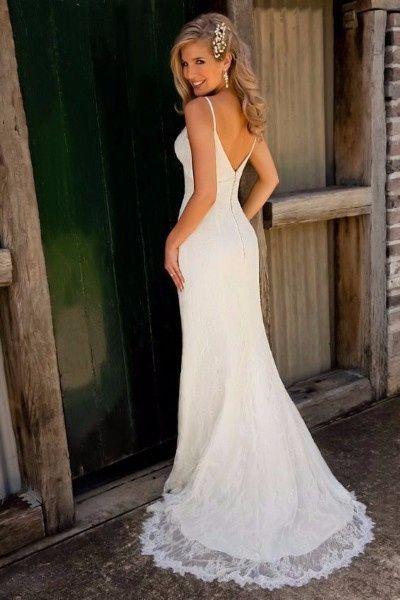 Vestido de novia sencillo bogota