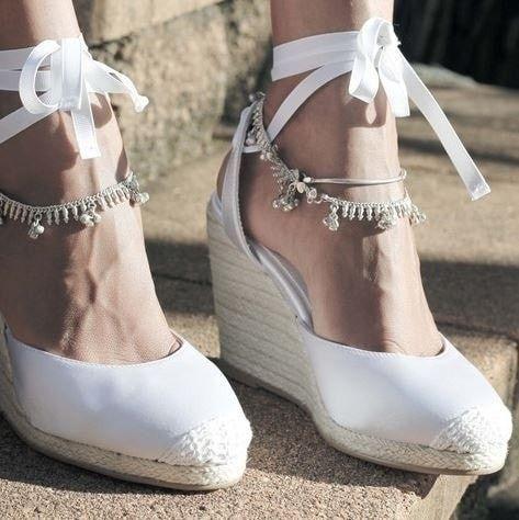 el look de novia perfecto para ti - los zapatos