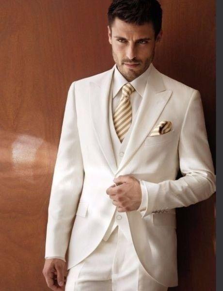 5e3426eebca8b Traje blanco v s negro traje para el novio