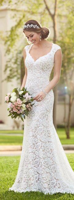 Vestidos de novia boda al aire libre