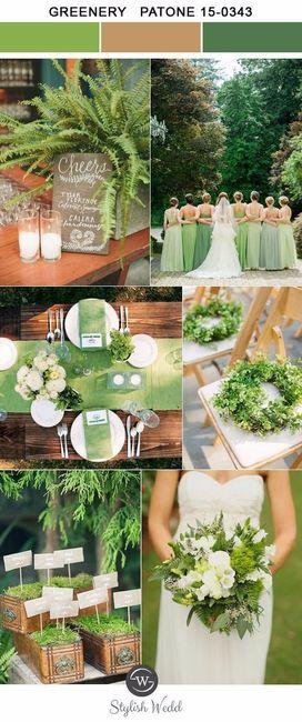 Matrimonio al aire libre paleta de colores for Banco de paletas al aire libre
