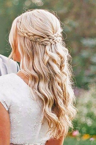 Peinados Romanticos Con Trenzas - Peinados-romanticos-con-trenzas