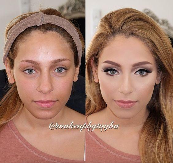 5 novias antes y después de maquillarse: ¿cuál queda mejor? 1