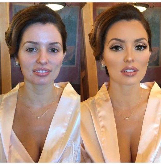 5 novias antes y después de maquillarse: ¿cuál queda mejor? 5