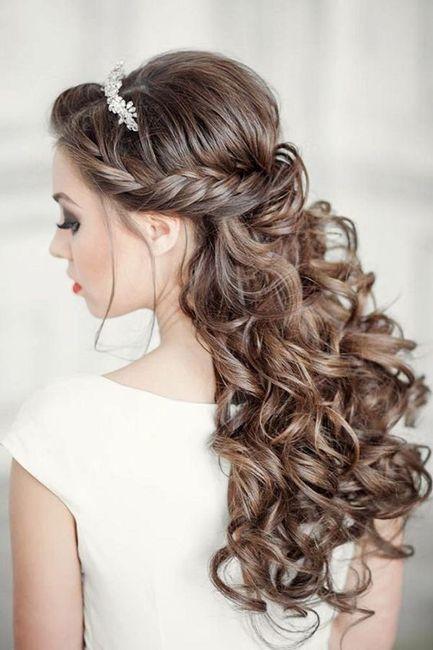Escolhe o penteado de noiva dos teus sonhos 4